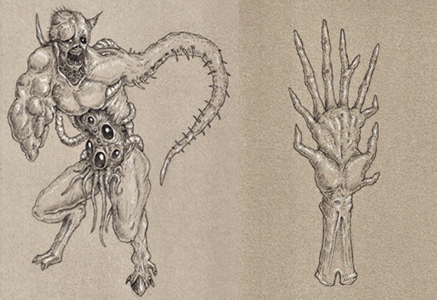 More Preliminary Sketches from the 2020 Anatomical Guide