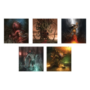Monstrous Art Prints