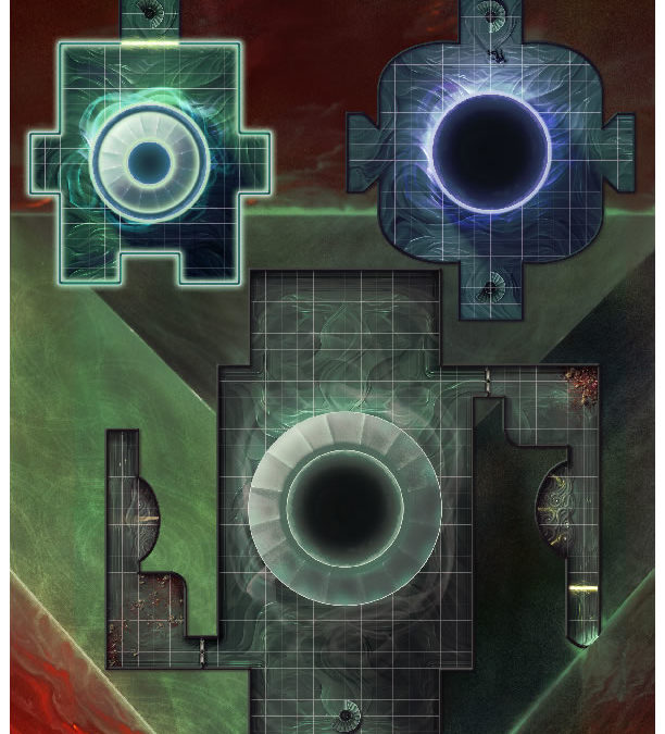 Dark Worlds Act 4 Keyless Map
