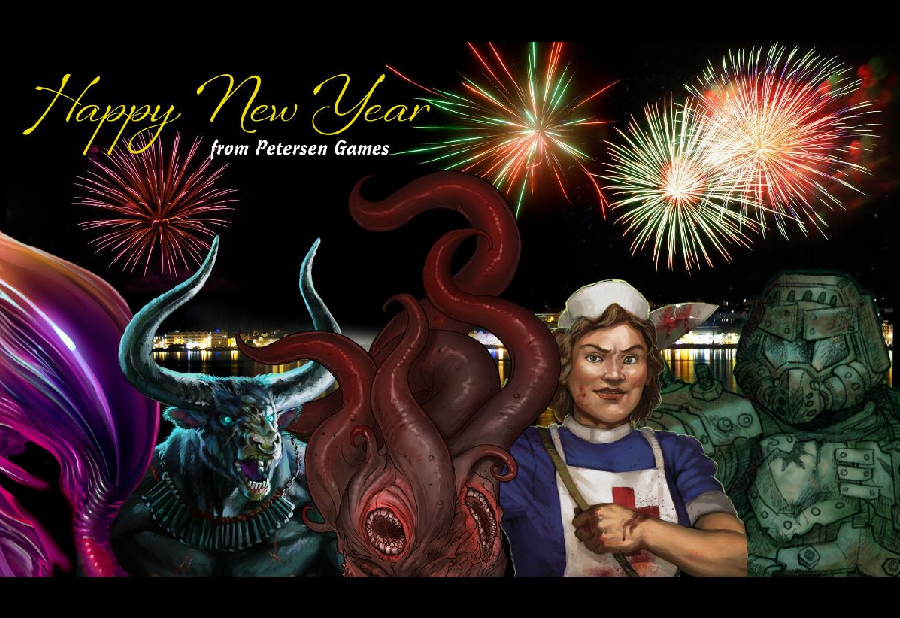 Happy New Year from Petersen Games!